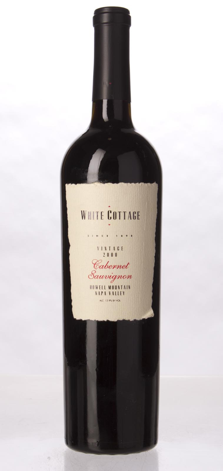 White Cottage Cabernet Sauvignon Howell Mountain 2000, 750mL () from The BPW - Merchants of rare and fine wines.