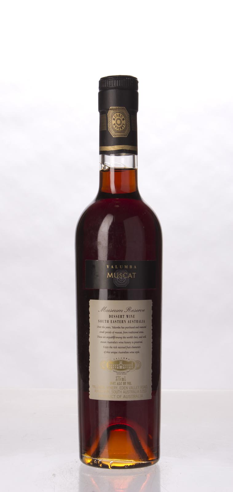 Yalumba Muscat Museum Release N.V., 375mL (WA96, ST94) from The BPW - Merchants of rare and fine wines.