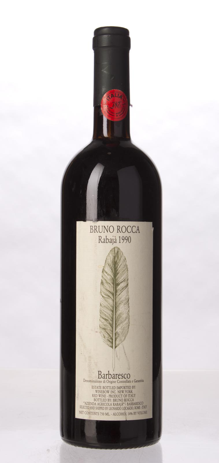 Bruno Rocca Barbaresco Rabaja 1990, 750mL (WA90) from The BPW - Merchants of rare and fine wines.