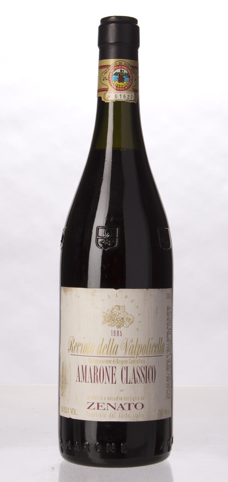 Zenato Amarone Recioto della Valpolicella 1985, 750mL () from The BPW - Merchants of rare and fine wines.