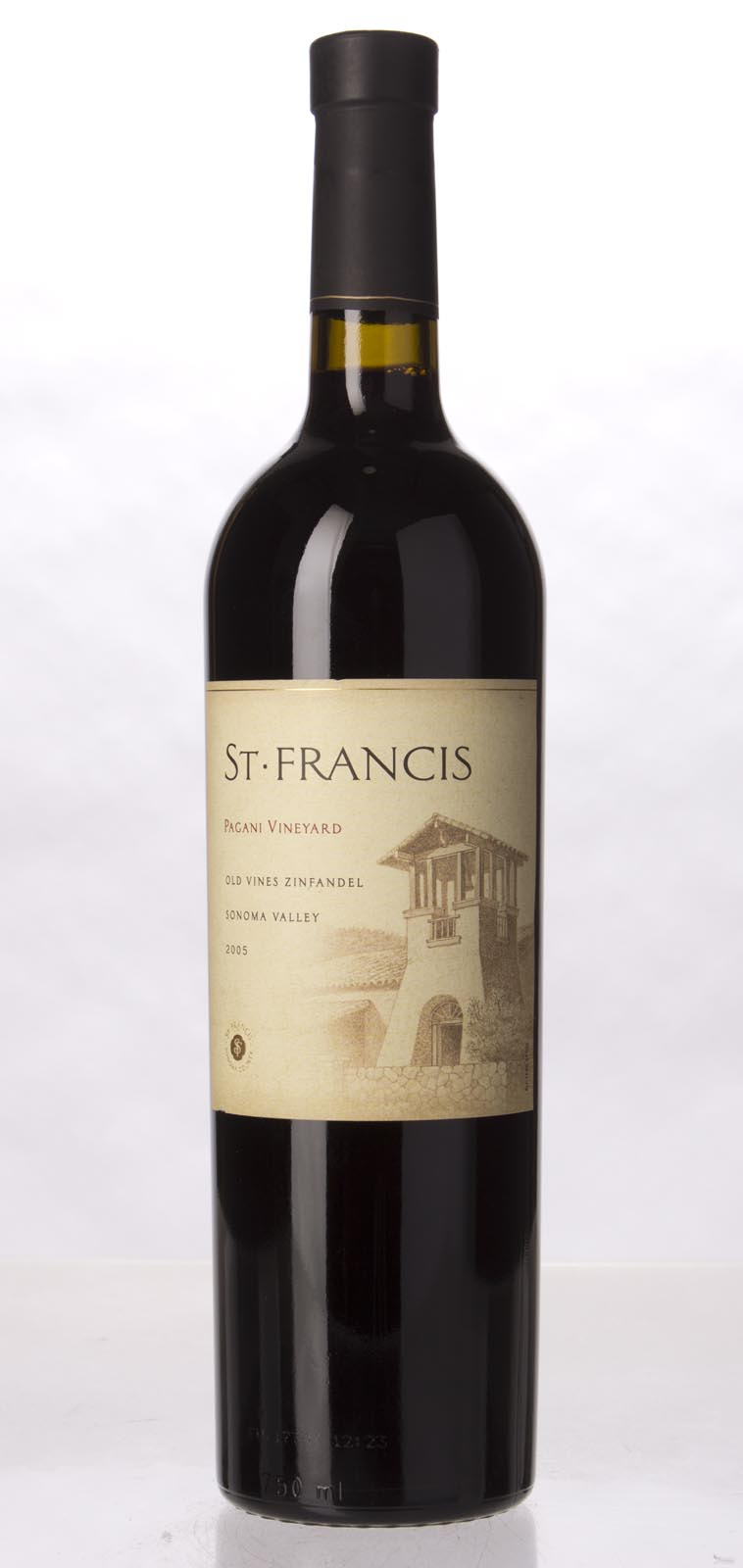 St. Francis Zinfandel Pagani Ranch Old Vines 2005, 750mL () from The BPW - Merchants of rare and fine wines.