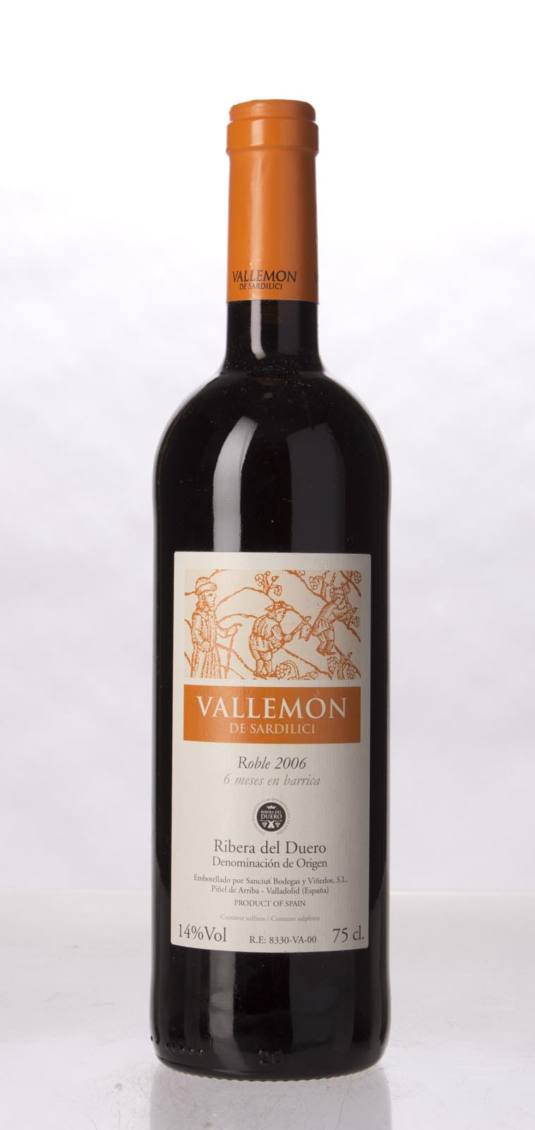 Vallemon de Sardilici Ribera del Duero 2006, 750mL () from The BPW - Merchants of rare and fine wines.