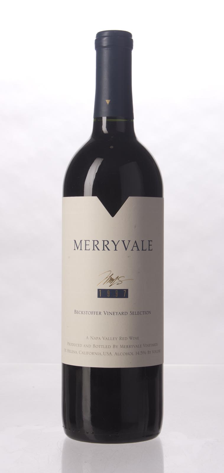 Merryvale Vineyards Cabernet Sauvignon Beckstoffer Vineyard Selection 1997, 750mL (WS96) from The BPW - Merchants of rare and fine wines.
