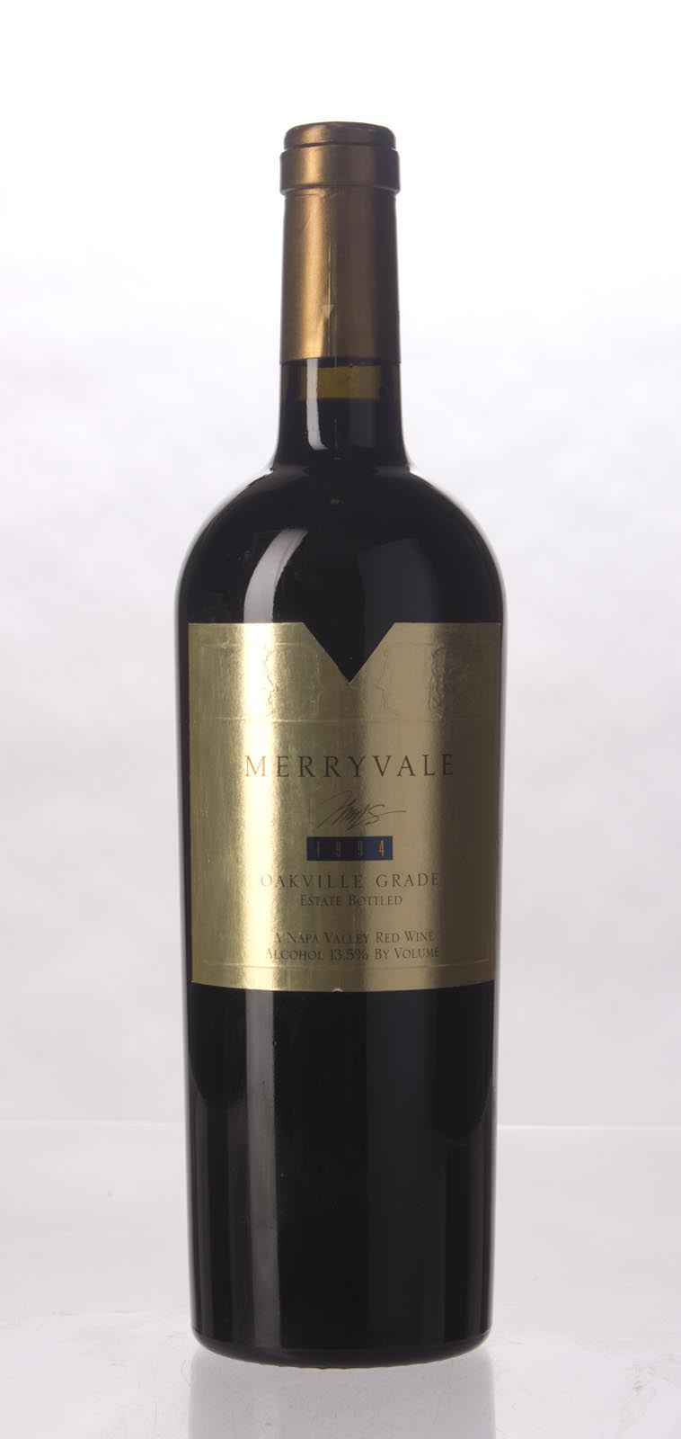 Merryvale Vineyards Proprietary Red Oakville Grade 1994, 750mL () from The BPW - Merchants of rare and fine wines.