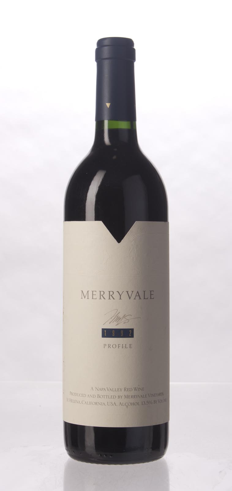 Merryvale Vineyards Profile 1992,  (WA88) from The BPW - Merchants of rare and fine wines.