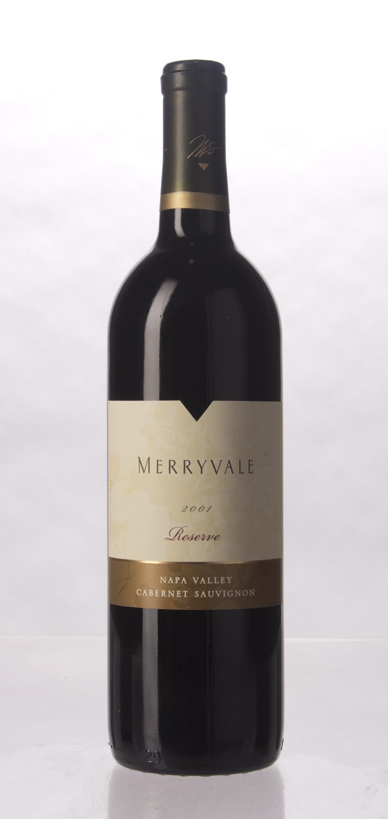 Merryvale Vineyards Cabernet Sauvignon Reserve 2001, 750mL () from The BPW - Merchants of rare and fine wines.