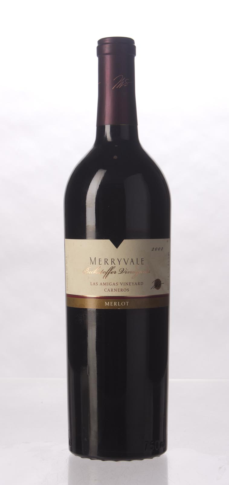 Merryvale Vineyards Merlot Las Amigas Beckstoffer Vineyard 2002, 750mL () from The BPW - Merchants of rare and fine wines.