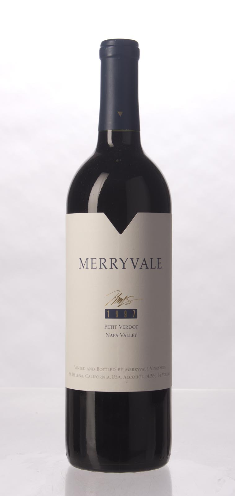 Merryvale Vineyards Petit Verdot Napa Valley 1997, 750mL () from The BPW - Merchants of rare and fine wines.