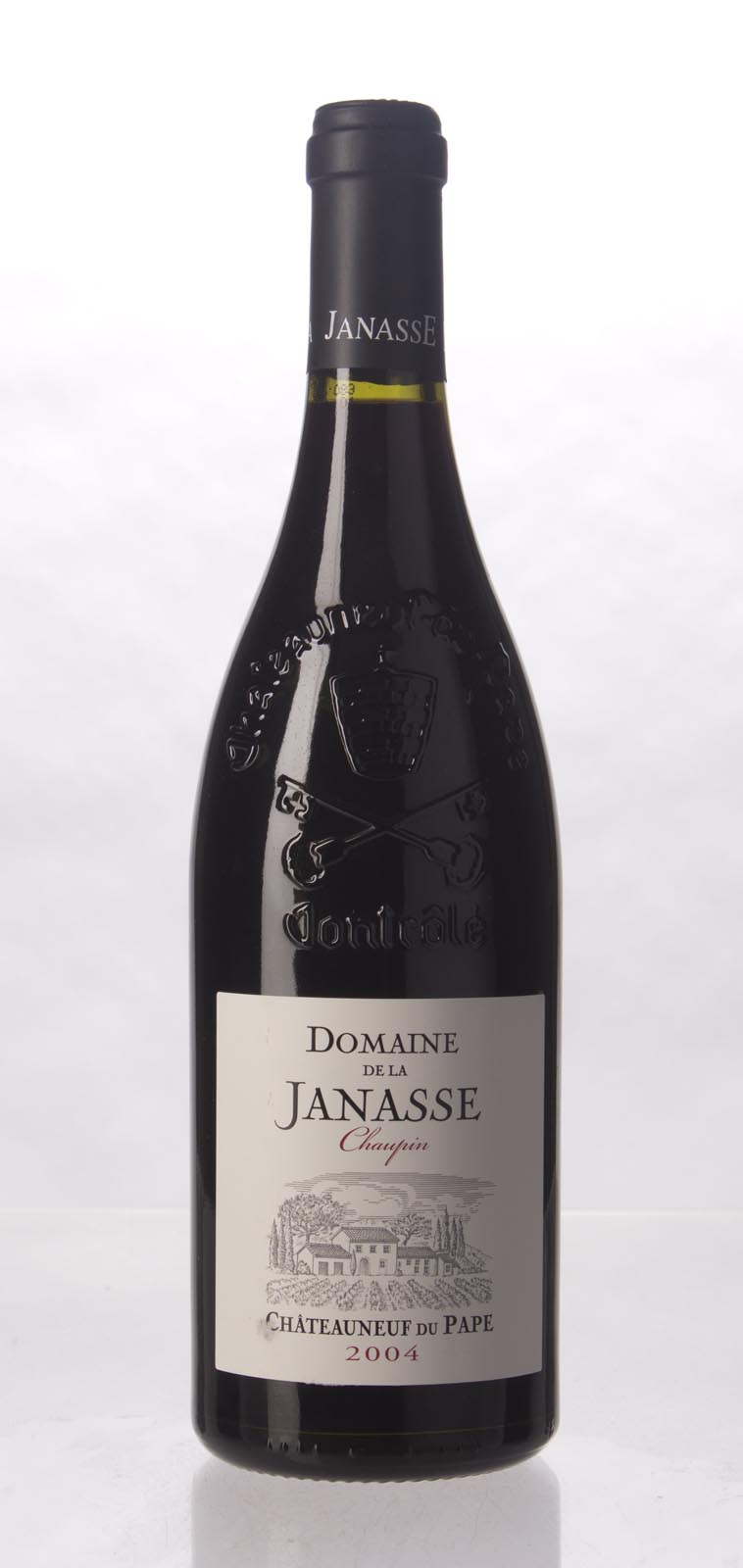 Domaine de la Janasse Chateauneuf du Pape Cuvee Chaupin 2004,  (WA93, ST93, WS93) from The BPW - Merchants of rare and fine wines.