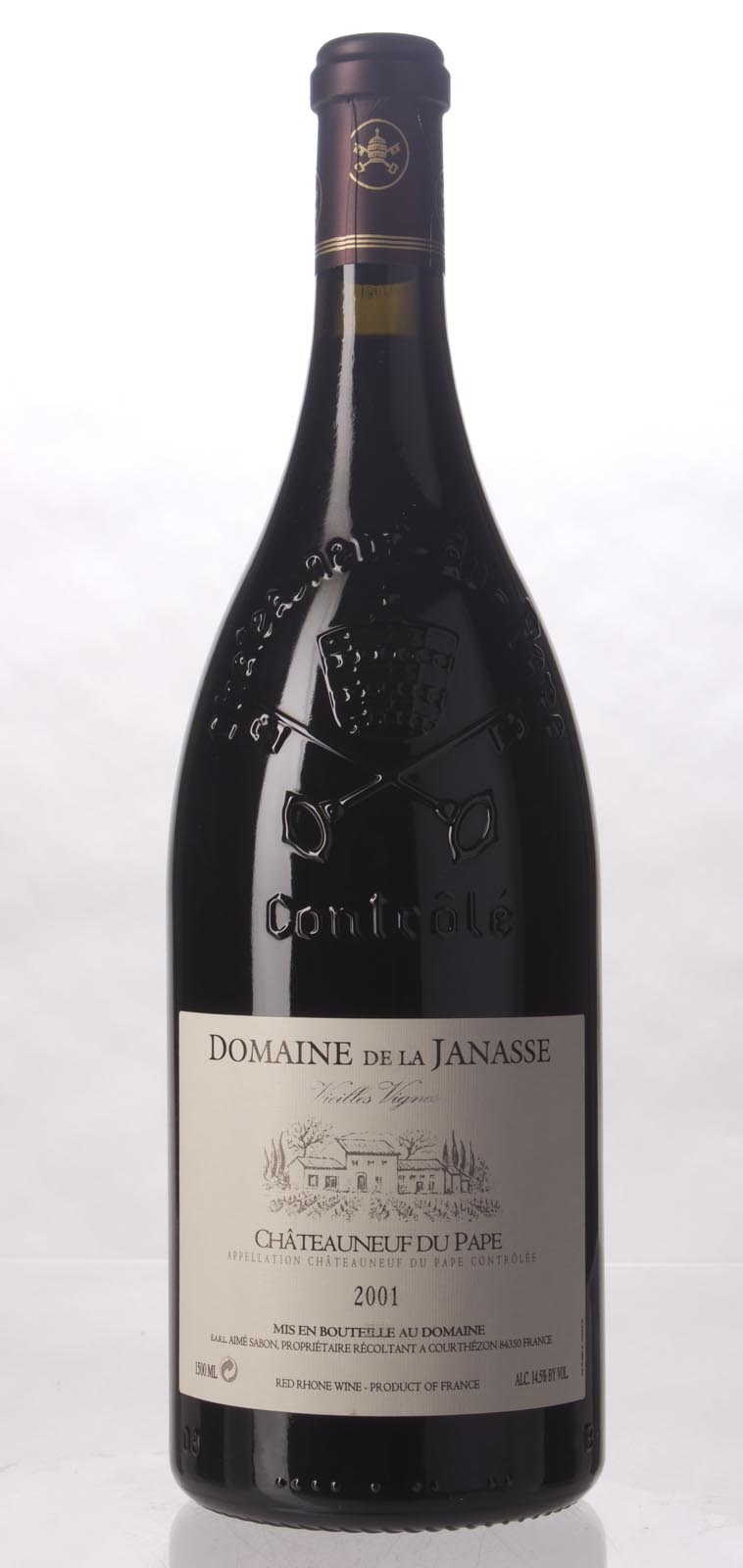 Domaine de la Janasse Chateauneuf du Pape Cuvee Vieilles Vignes 2001, 1.5L (WA98) from The BPW - Merchants of rare and fine wines.