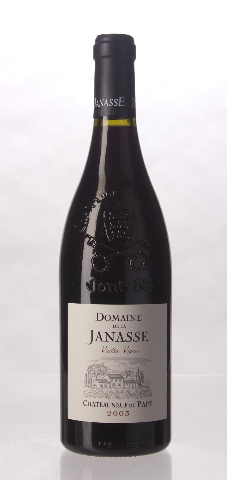 Domaine de la Janasse Chateauneuf du Pape Cuvee Vieilles Vignes 2003,  (WA98, WS96) from The BPW - Merchants of rare and fine wines.
