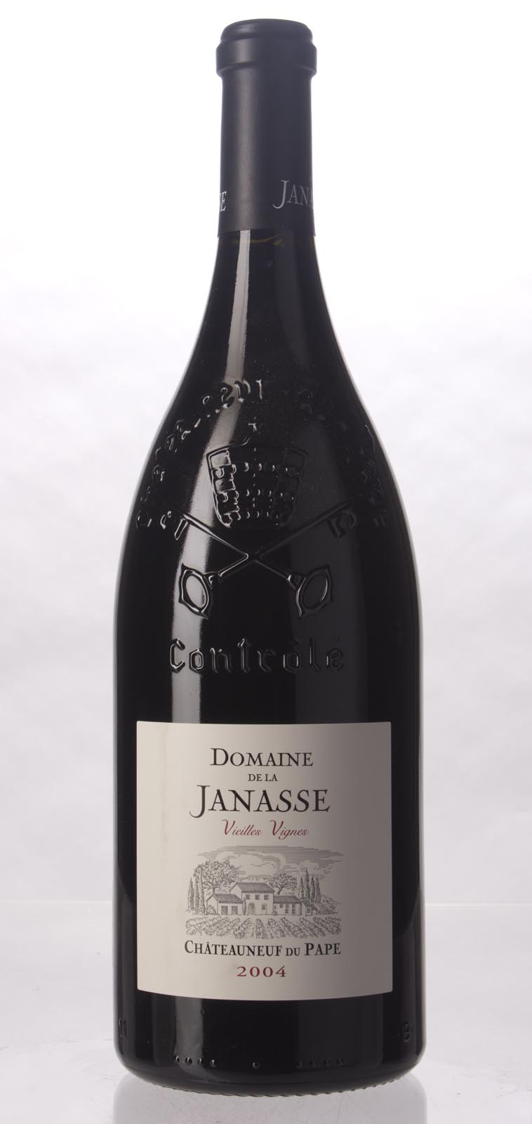 Domaine de la Janasse Chateauneuf du Pape Cuvee Vieilles Vignes 2004, 1.5L (ST95, WS94) from The BPW - Merchants of rare and fine wines.