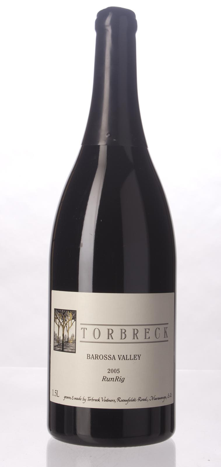 Torbreck Run Rig 2005, 1.5L (WA98+) from The BPW - Merchants of rare and fine wines.
