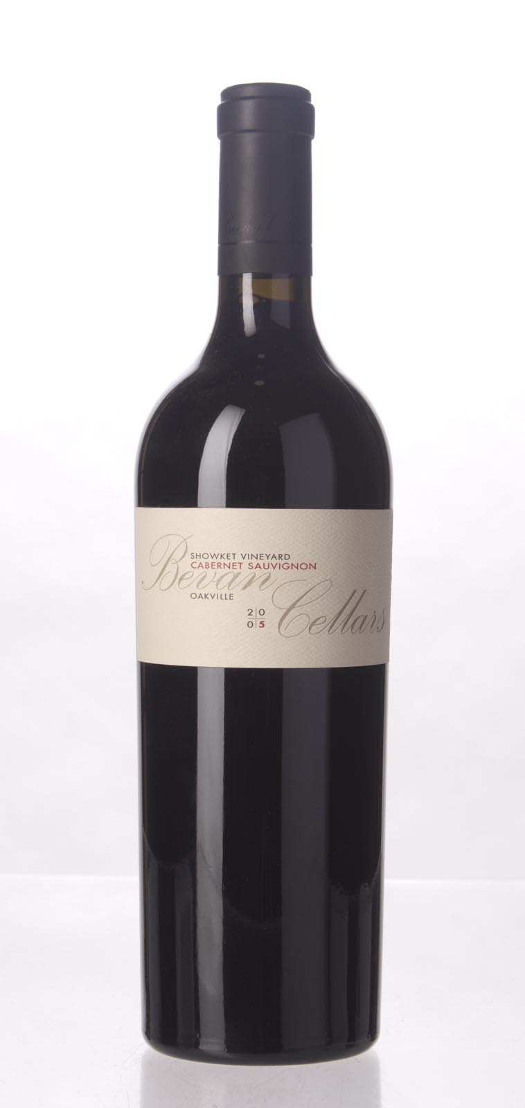 Bevan Cellars Cabernet Sauvignon Showket Vineyard 2005, 750mL (WA93, WS93) from The BPW - Merchants of rare and fine wines.