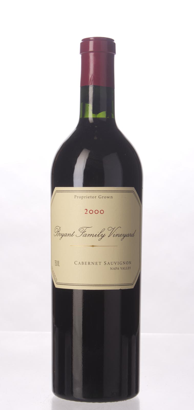 Bryant Family Vineyard Cabernet Sauvignon Pritchard Hill 2000, 750mL (WA95, ST95, WS93) from The BPW - Merchants of rare and fine wines.