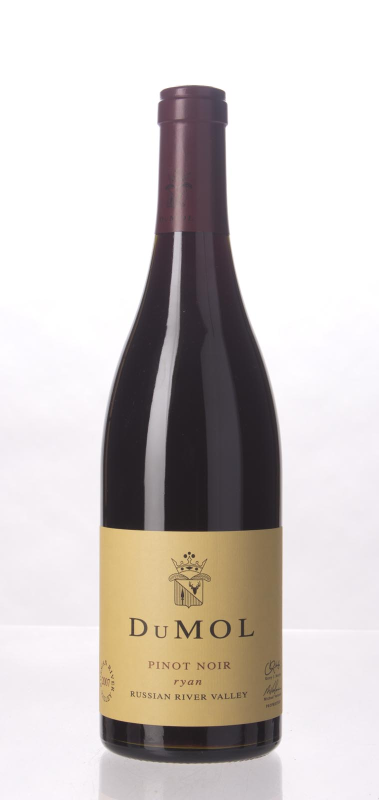 DuMol Pinot Noir Ryan 2007, 750mL (WA94, ST93, WS94) from The BPW - Merchants of rare and fine wines.