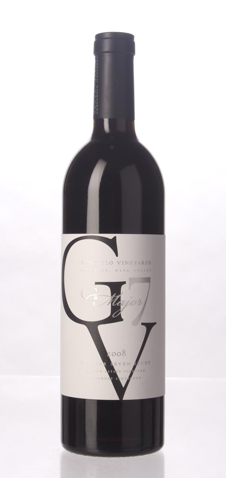 Gargiulo Vineyards Cabernet Sauvignon OVX G Major 7 Study 2008, 750mL (JS92, WA90) from The BPW - Merchants of rare and fine wines.