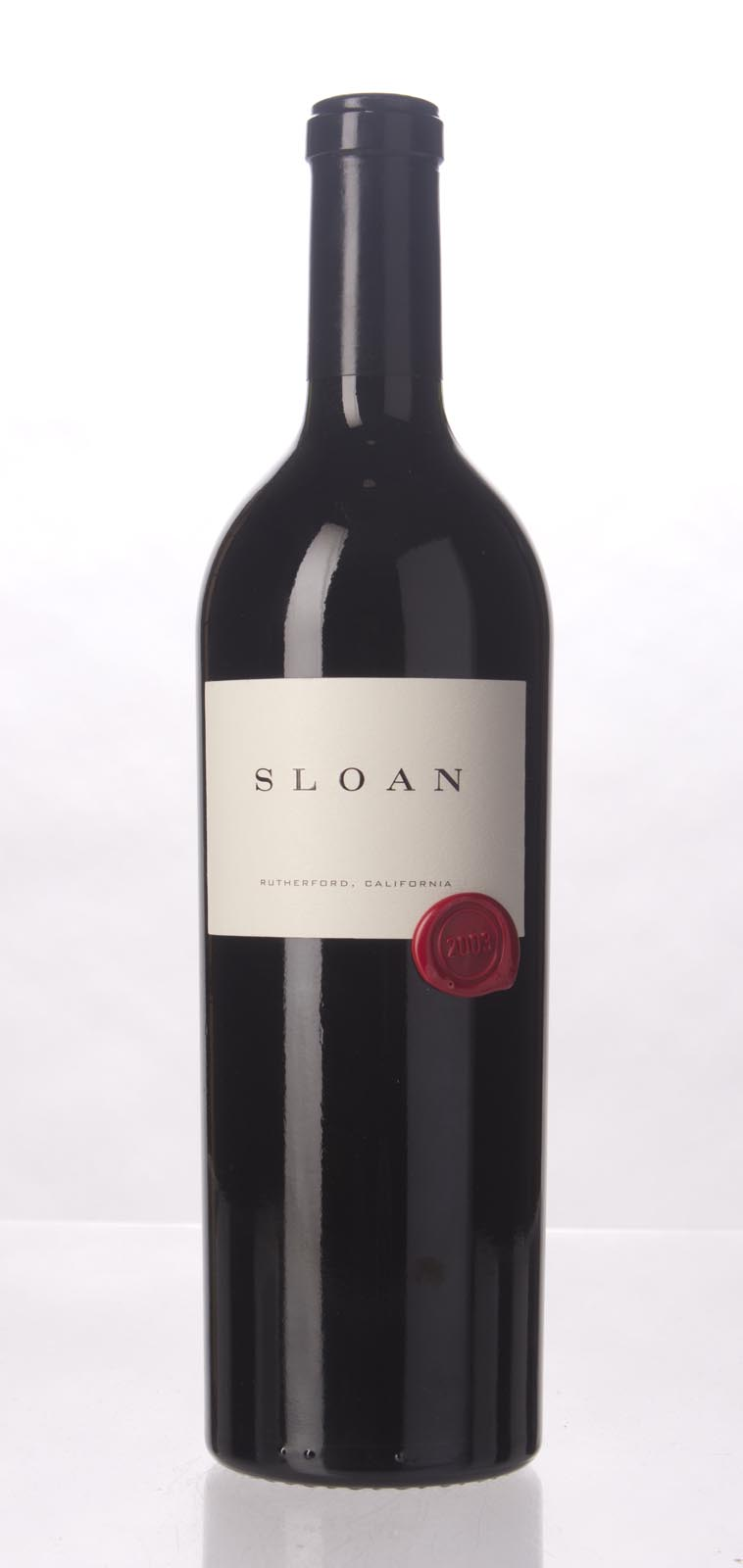 Sloan Proprietary Red 2003, 750mL (WA96+, WS94) from The BPW - Merchants of rare and fine wines.