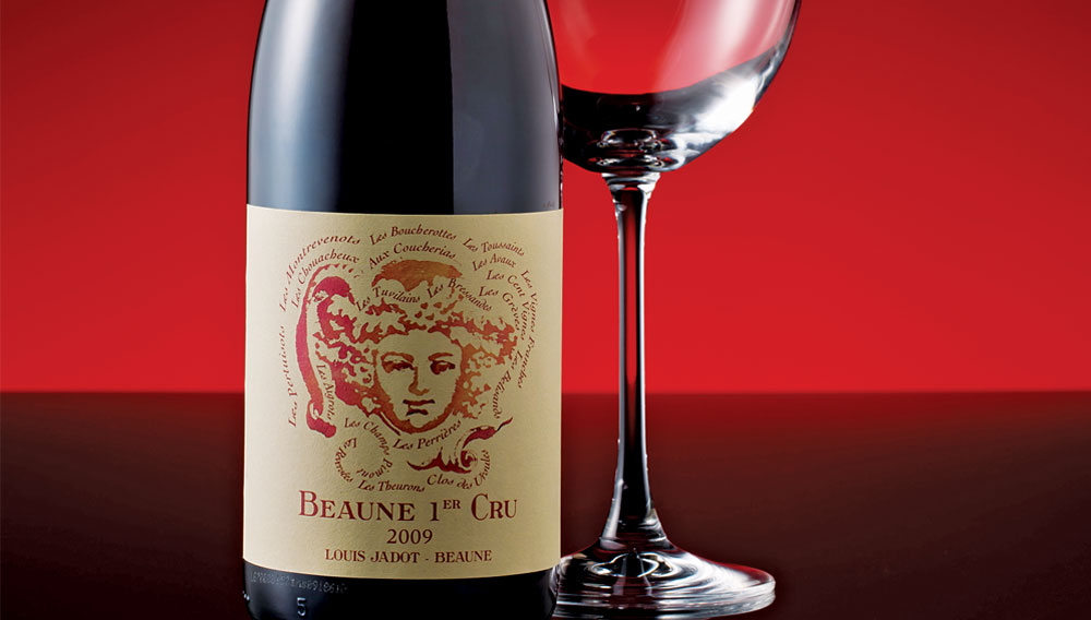 Louis Jadot Beaune Anniversary Premier Cru 2012,  (BH92, V92-94) from The BPW - Merchants of rare and fine wines.