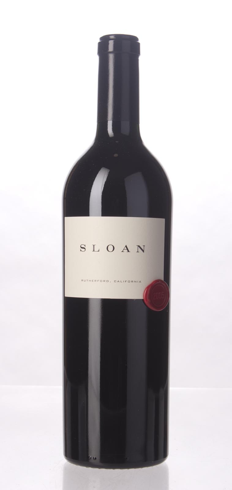 Sloan Proprietary Red 2005, 750mL (WA96+, ST95, WS94) from The BPW - Merchants of rare and fine wines.