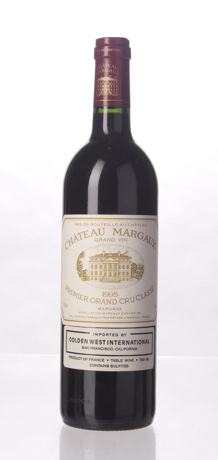 Chateau Margaux 1995, 750mL (WS100) from The BPW - Merchants of rare and fine wines.