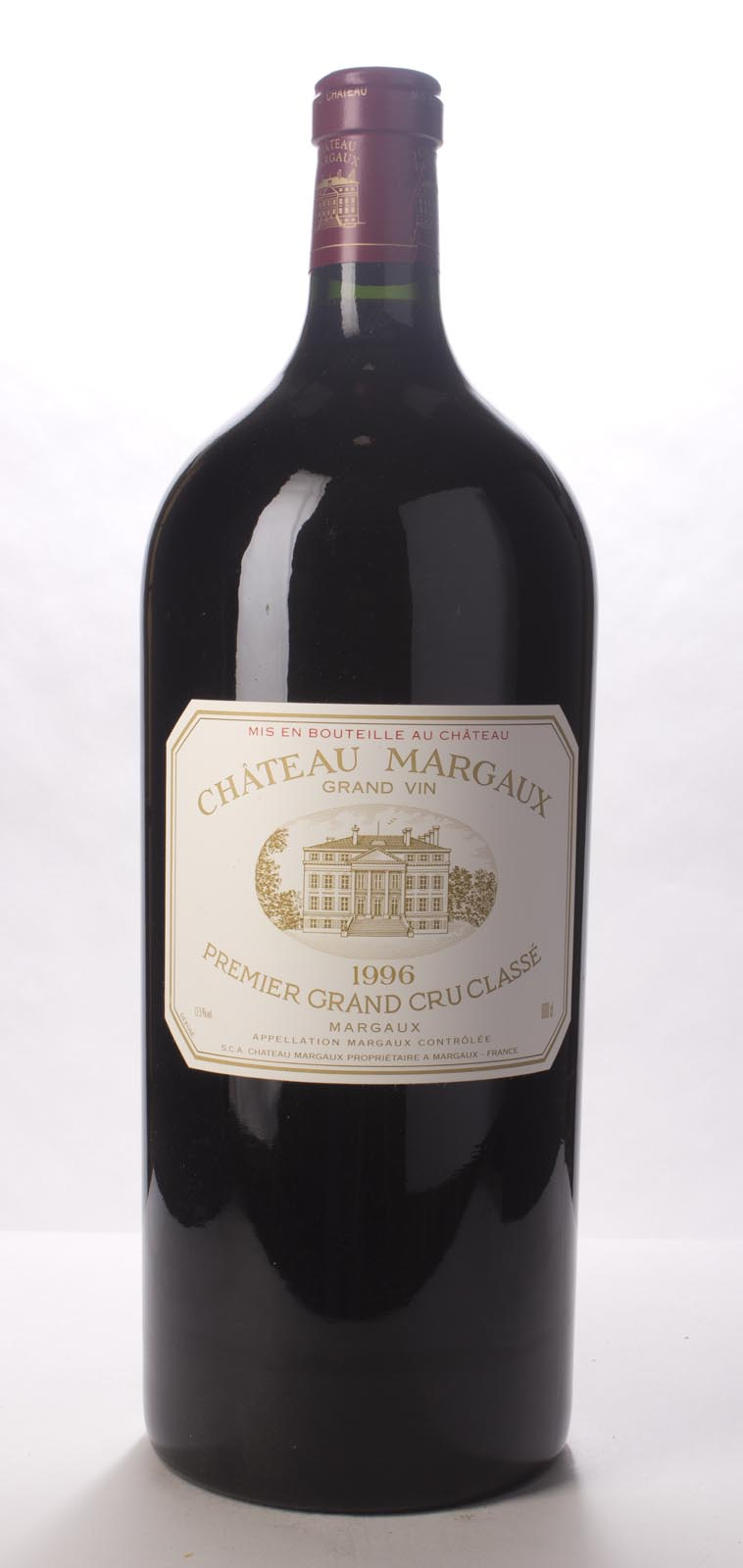 Chateau Margaux 1996, 6L (WA99) from The BPW - Merchants of rare and fine wines.