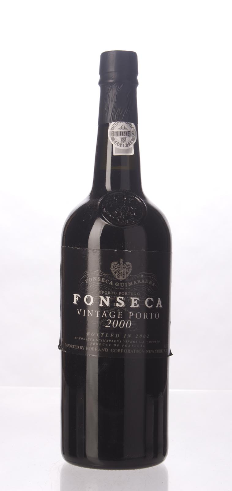 Fonseca Vintage Port 2000, 750mL (WA96, ST95, WS94) from The BPW - Merchants of rare and fine wines.