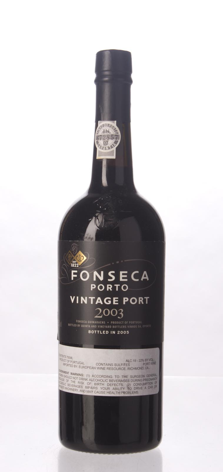 Fonseca Vintage Port 2003, 750mL (ST97, WS96) from The BPW - Merchants of rare and fine wines.