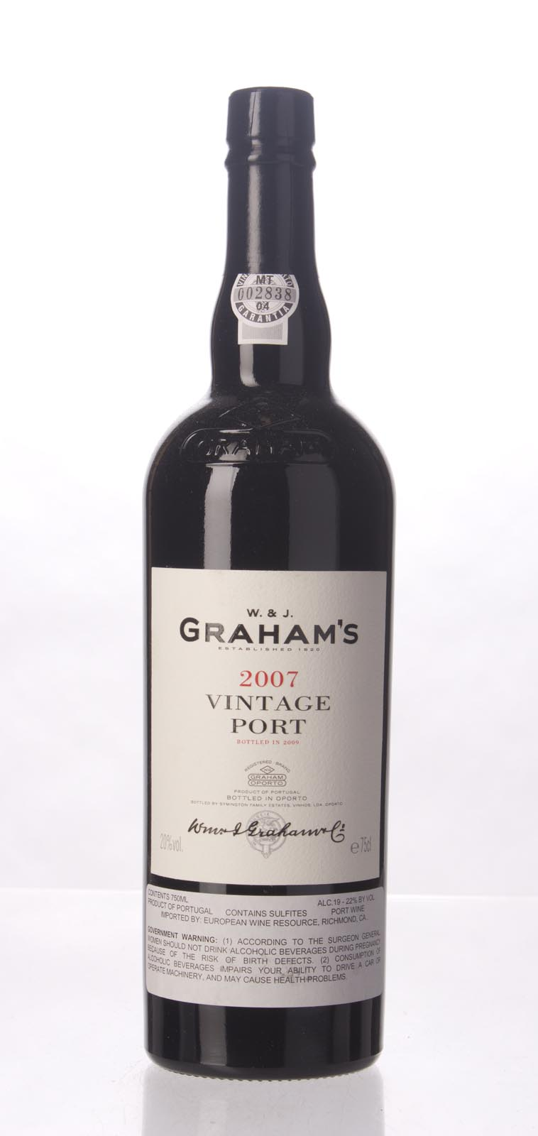 Graham Vintage Port 2007, 750mL (WA97, WS96) from The BPW - Merchants of rare and fine wines.