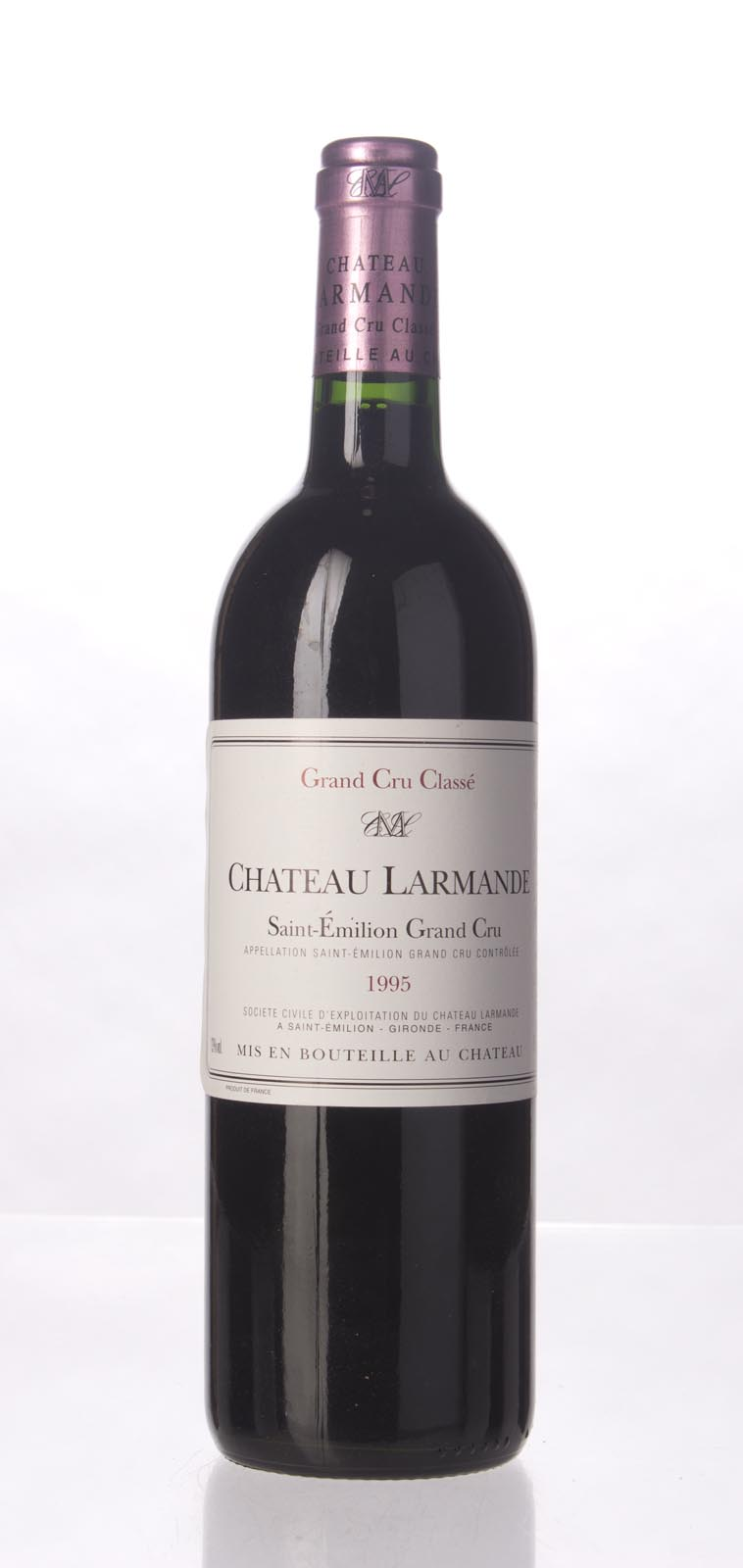 Larmande 1995,  (WS93) from The BPW - Merchants of rare and fine wines.