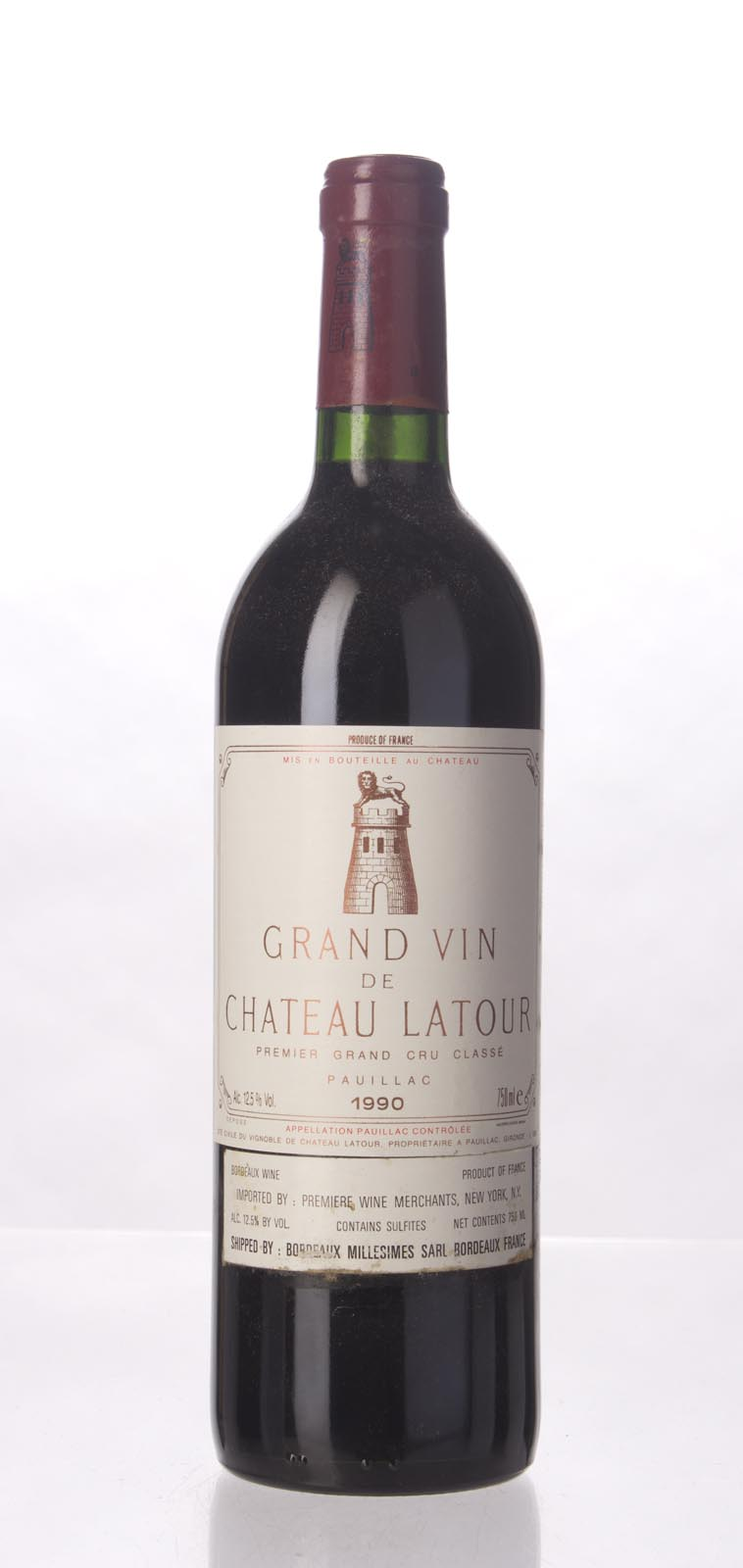 Latour 1990, 750mL (ST98, WS100) from The BPW - Merchants of rare and fine wines.