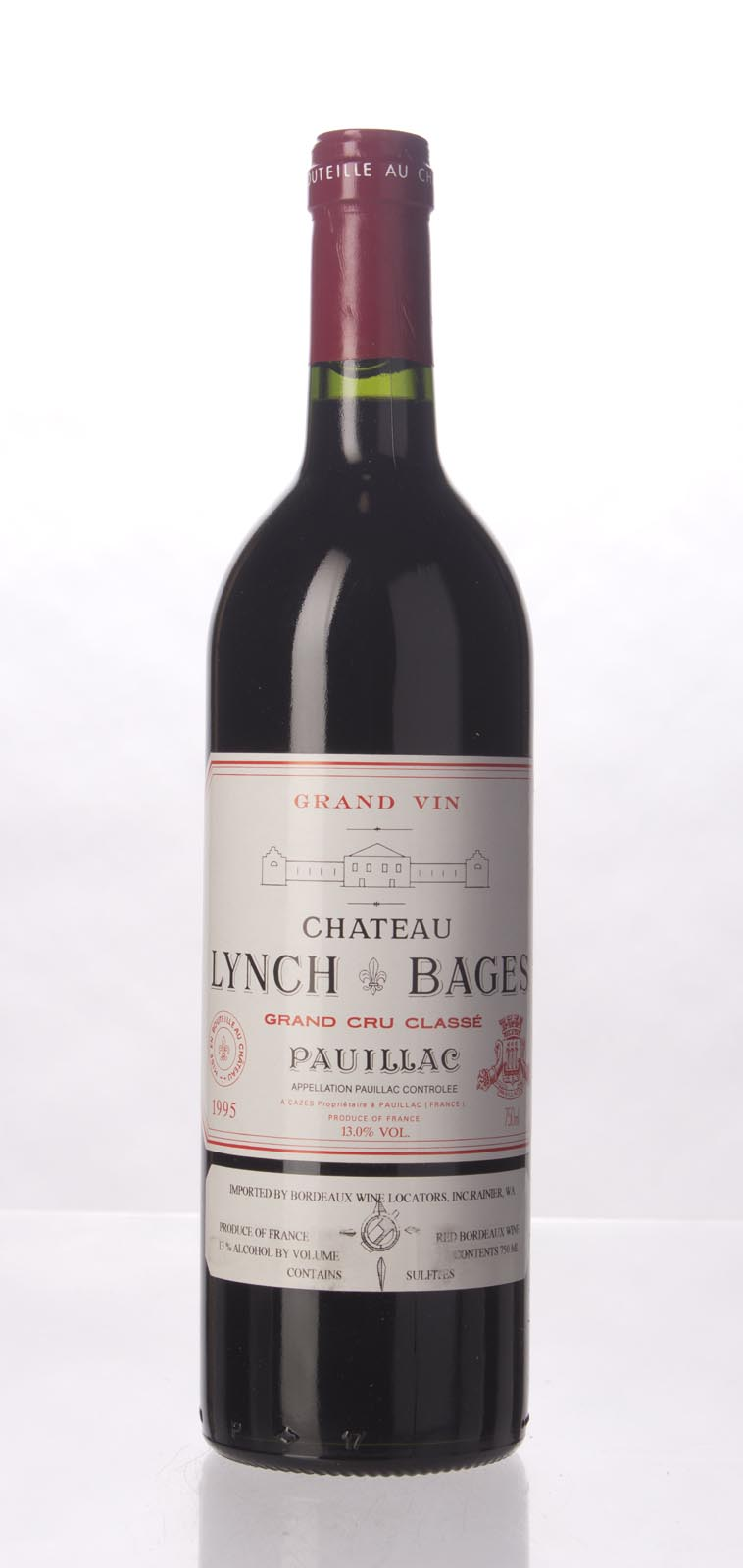 Lynch Bages 1995,  (WS91) from The BPW - Merchants of rare and fine wines.