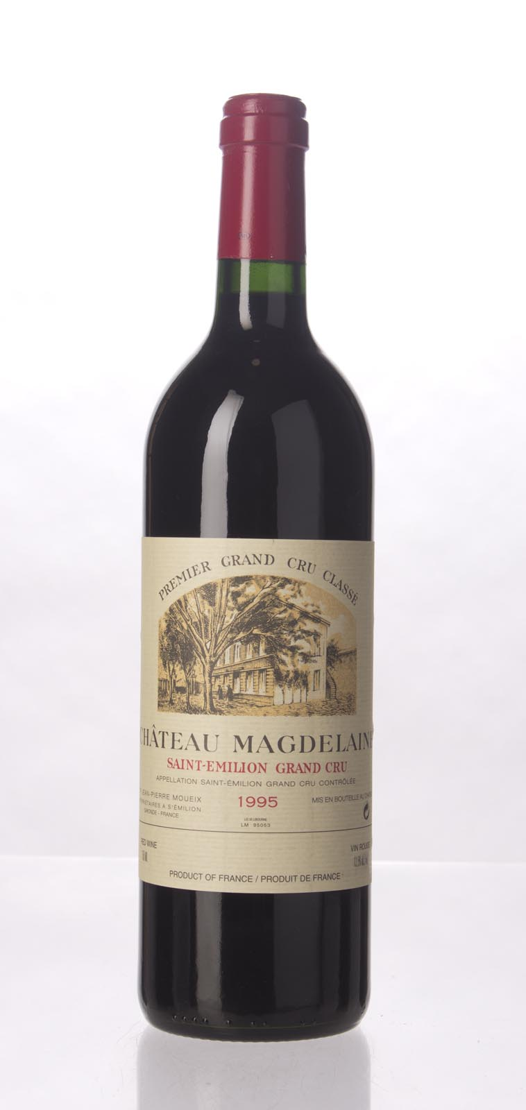 Magdelaine 1995,  (WA91, ST90+, WS91) from The BPW - Merchants of rare and fine wines.