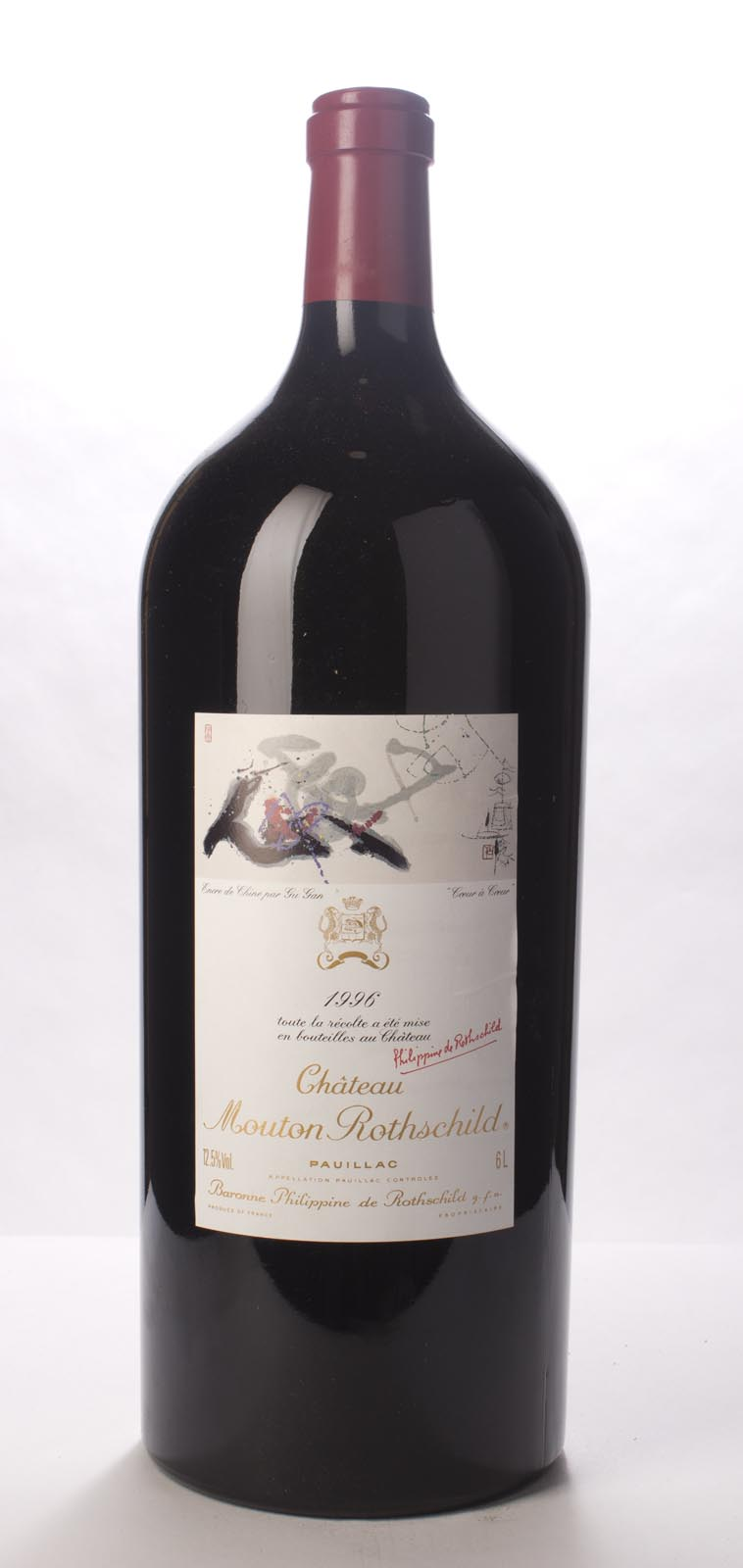 Mouton Rothschild 1996, 6L (WA94, WS96) from The BPW - Merchants of rare and fine wines.