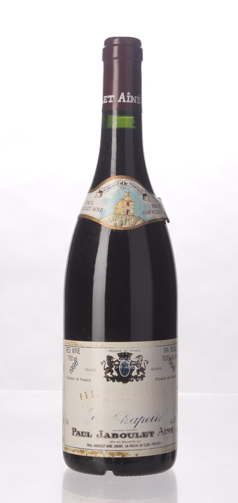 Paul Jaboulet Aine Hermitage la Chapelle 1996, 750mL (WS94) from The BPW - Merchants of rare and fine wines.