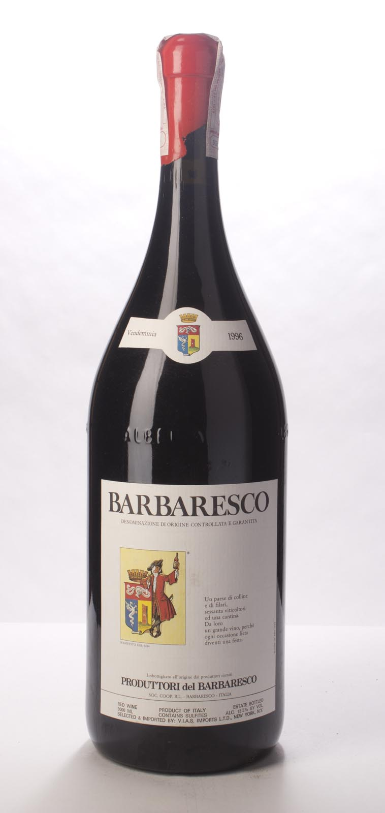 Produttori del Barbaresco Barbaresco 1996, 3L () from The BPW - Merchants of rare and fine wines.