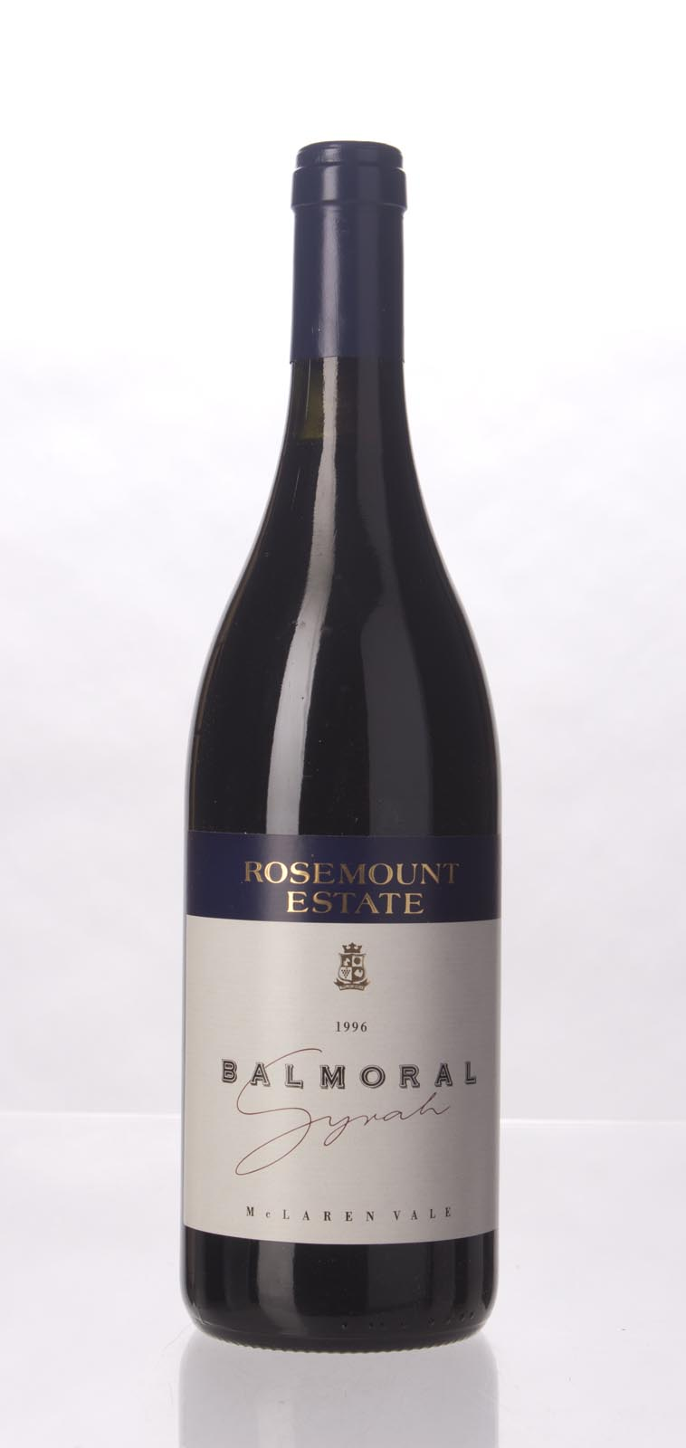 Rosemount Syrah Balmoral 1996, 750mL (WS92) from The BPW - Merchants of rare and fine wines.