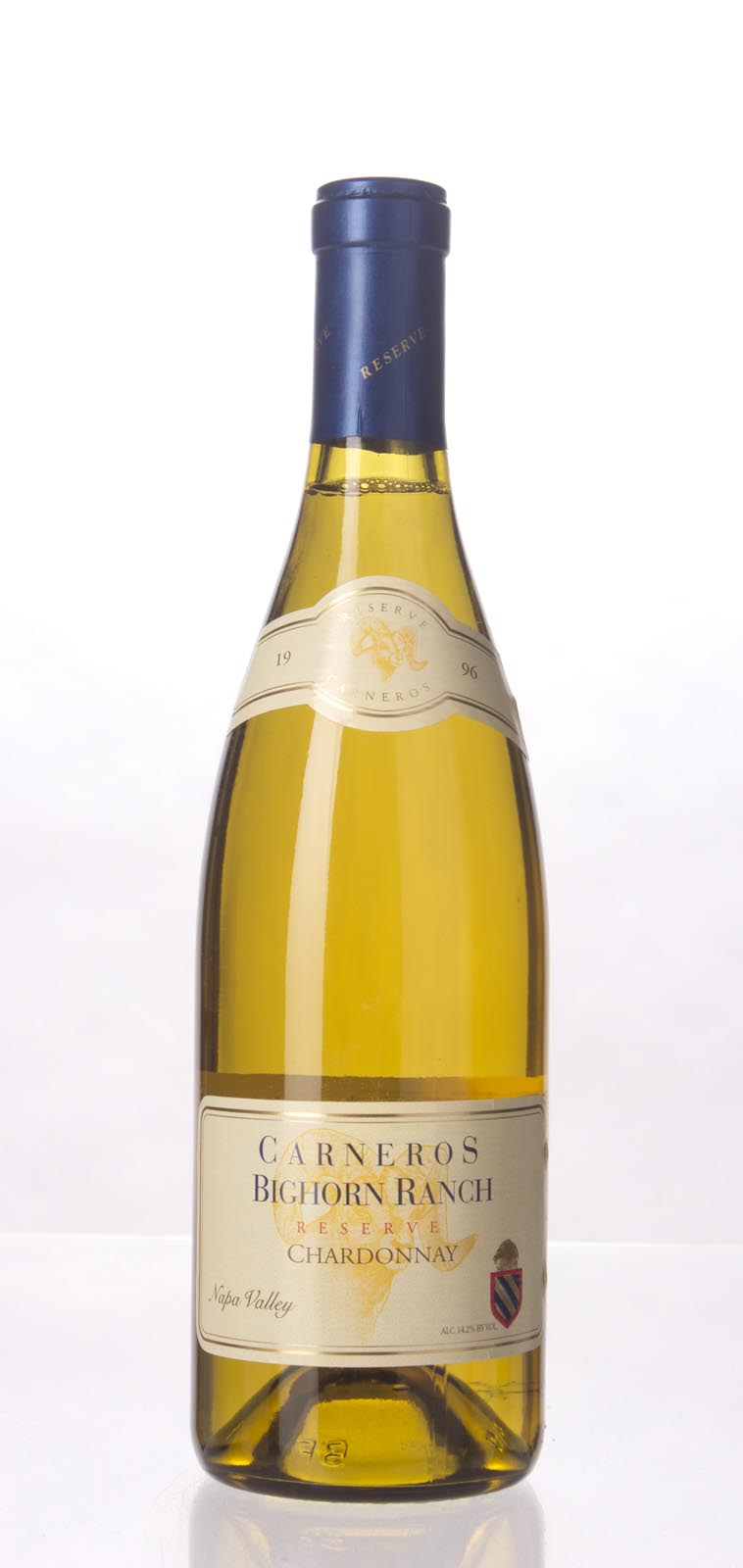 Bighorn Cellars Chardonnay Reserve 1996, 750mL () from The BPW - Merchants of rare and fine wines.