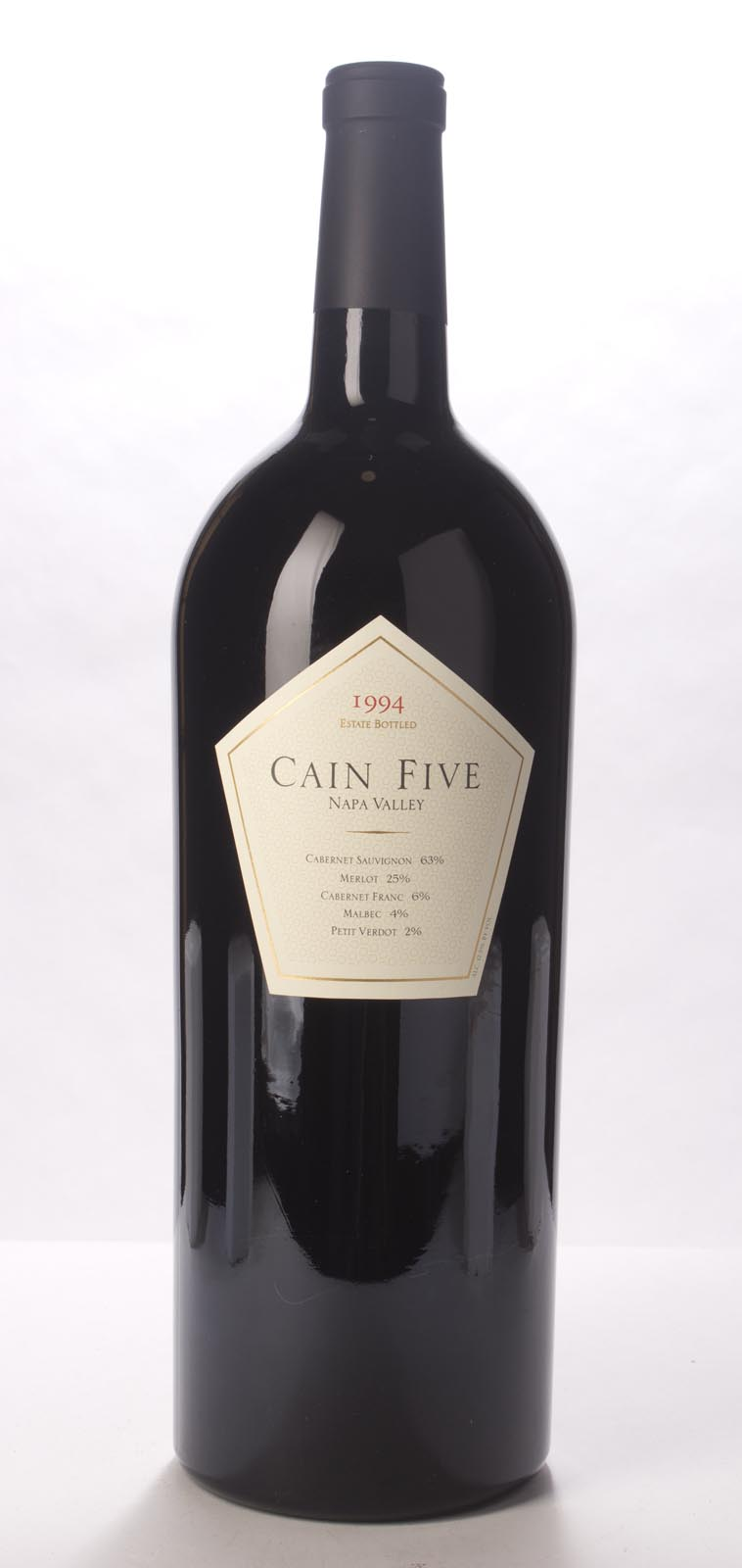Cain Cellars Proprietary Red Cain Five 1994, 3L (WA91) from The BPW - Merchants of rare and fine wines.