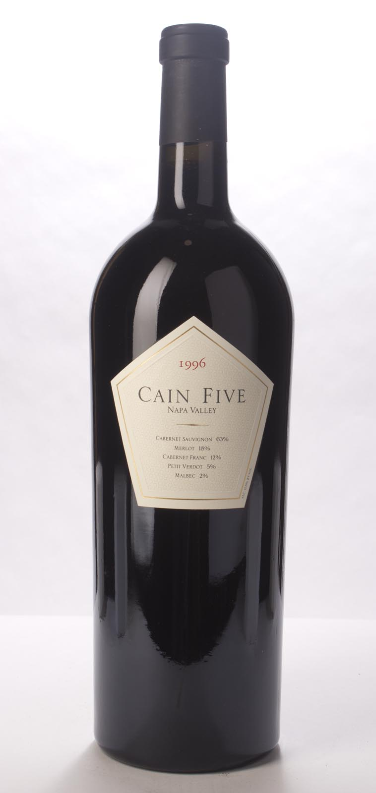Cain Cellars Proprietary Red Cain Five 1996, 3L (ST91) from The BPW - Merchants of rare and fine wines.