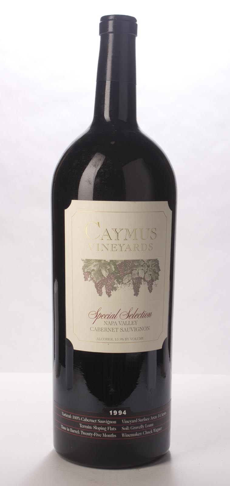 Caymus Cabernet Sauvignon Special Selection 1994, 3L (WA95, WS95) from The BPW - Merchants of rare and fine wines.