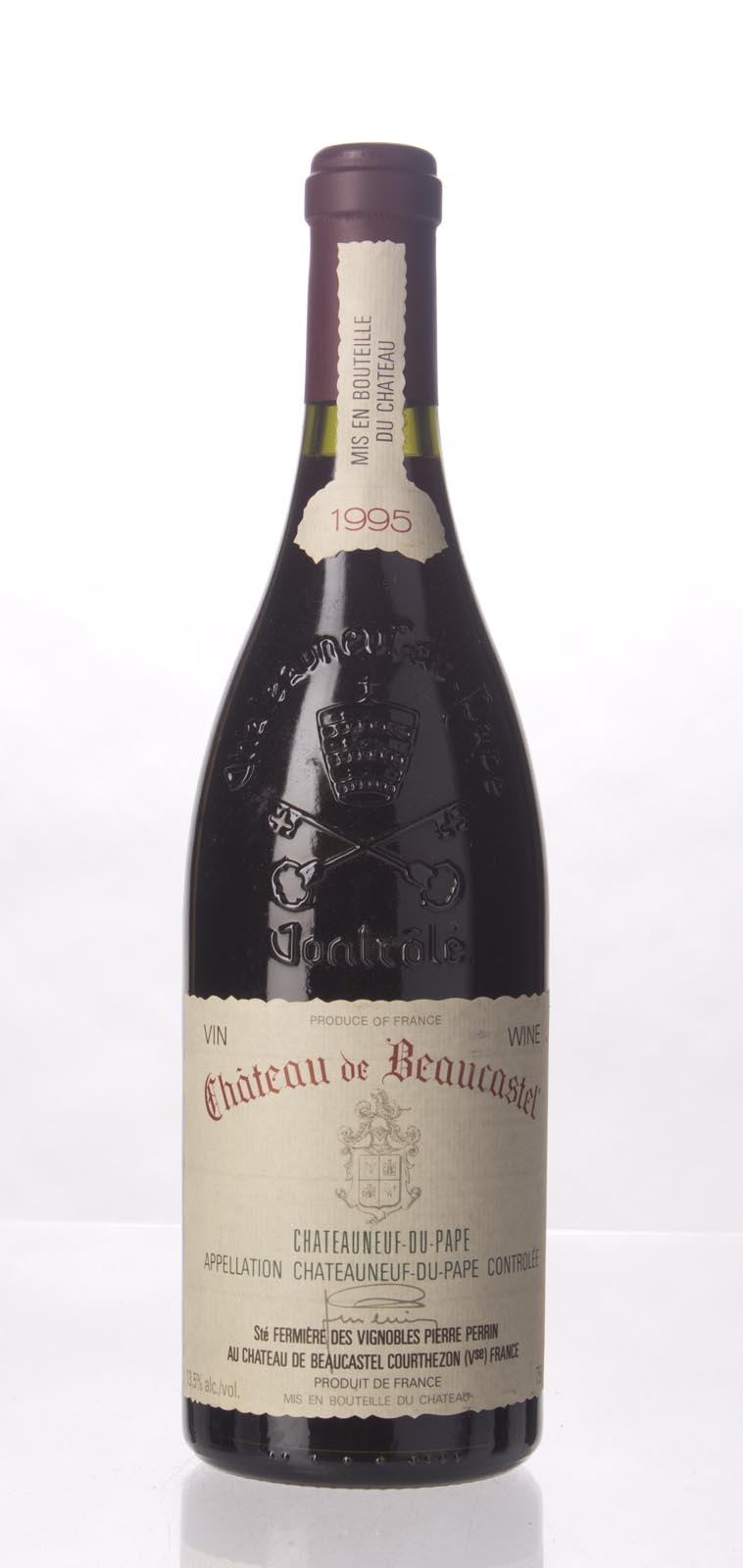 Chateau Beaucastel Chateauneuf du Pape 1995,  (WA93, WS95) from The BPW - Merchants of rare and fine wines.
