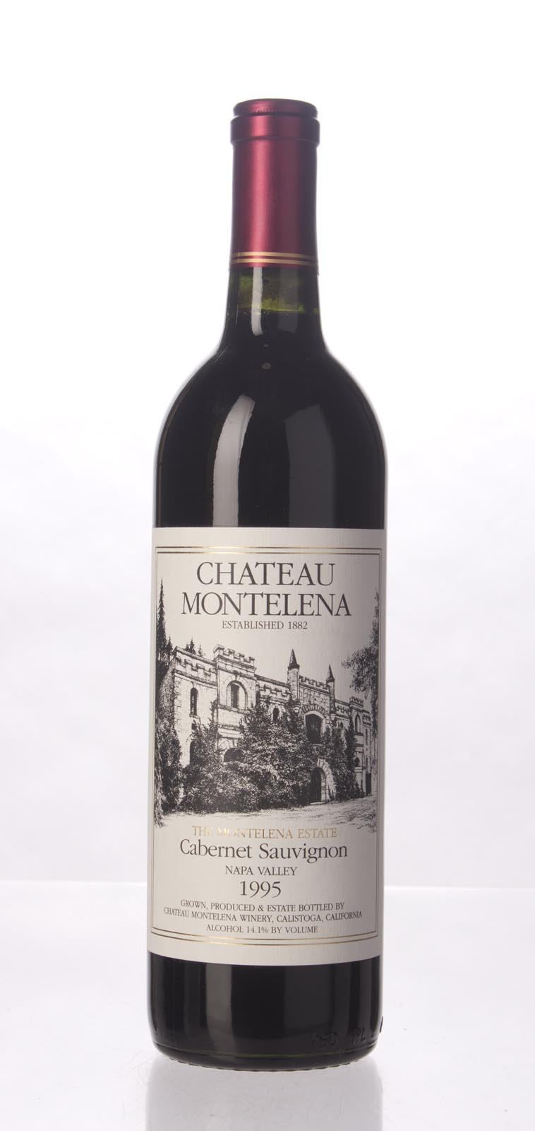 Chateau Montelena Cabernet Sauvignon Montelena Estate 1995, 750mL (WA94) from The BPW - Merchants of rare and fine wines.