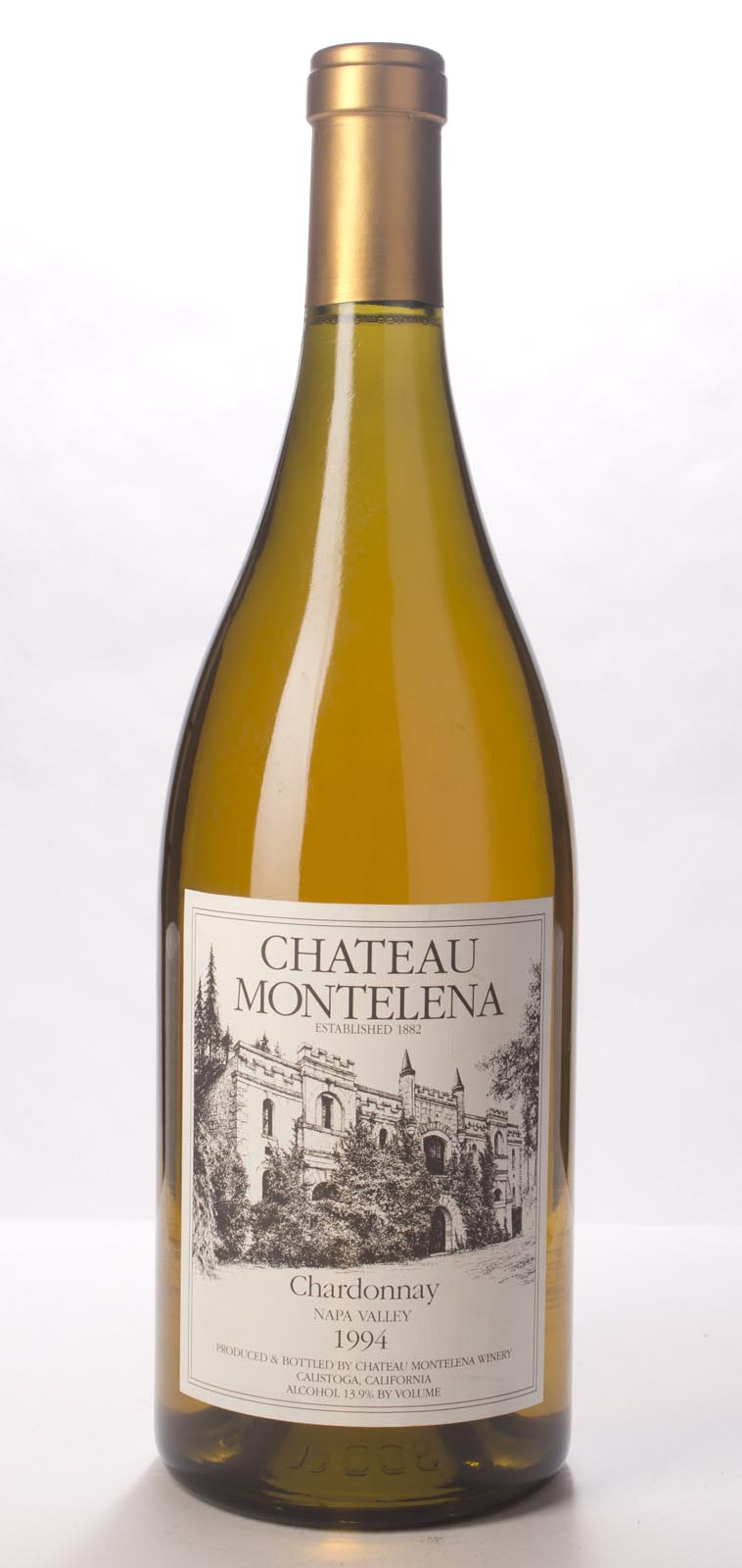 Chateau Montelena Chardonnay Napa Valley Estate 1994, 3L (WA90, WS91) from The BPW - Merchants of rare and fine wines.