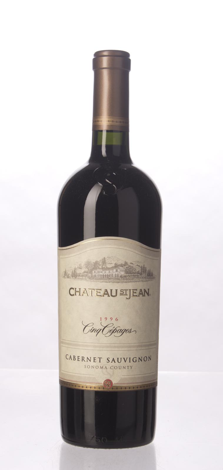 Chateau St. Jean Proprietary Red Cinq Cepages 1996, 750mL (WS95 - Wine Spectator Wine of the Year!!!) from The BPW - Merchants of rare and fine wines.