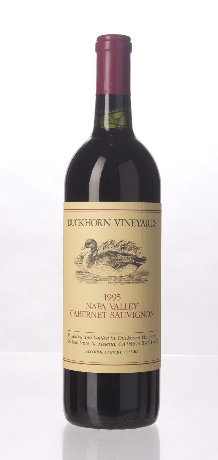 Duckhorn Cabernet Sauvignon Napa Valley 1995, 750mL () from The BPW - Merchants of rare and fine wines.