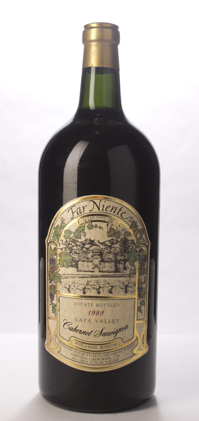 Far Niente Cabernet Sauvignon 1989, 6L () from The BPW - Merchants of rare and fine wines.