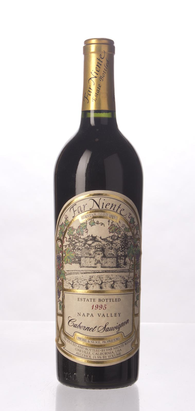 Far Niente Cabernet Sauvignon 1995, 750mL (WS92) from The BPW - Merchants of rare and fine wines.