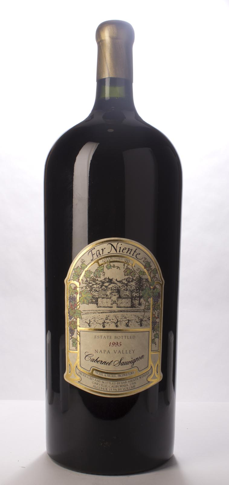Far Niente Cabernet Sauvignon 1995, 12L (WS92) from The BPW - Merchants of rare and fine wines.