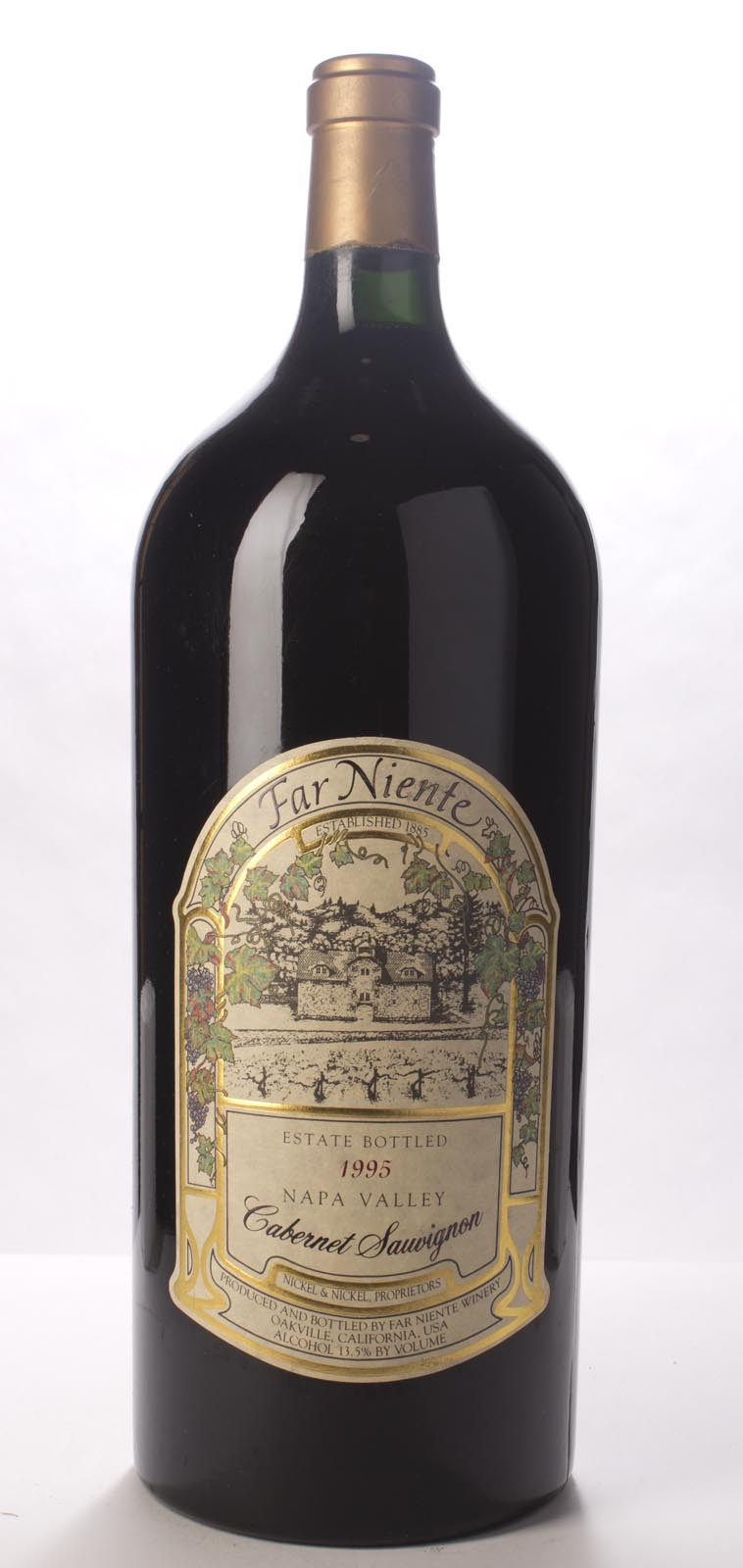 Far Niente Cabernet Sauvignon 1995, 6L (WS92) from The BPW - Merchants of rare and fine wines.